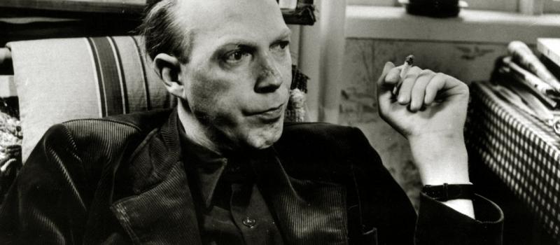 Poeten Gunnar Ekelˆf.